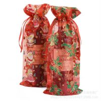 Custom wine organza bag eco-friendly 1