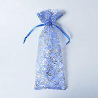 Custom wine organza bag eco-friendly 4