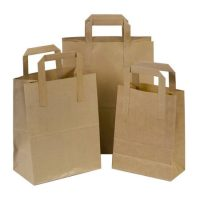 Handly eco friendly food packing paper bag 1