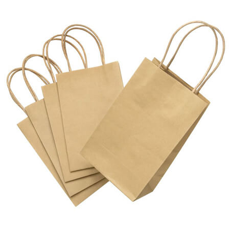 Handly eco friendly food packing paper bag 2