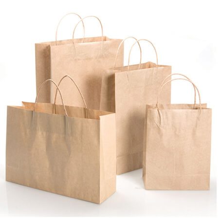 Handly eco friendly food packing paper bag 3