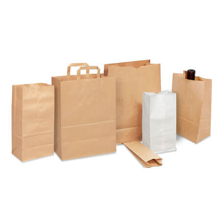 Handly eco friendly food packing paper bag 4