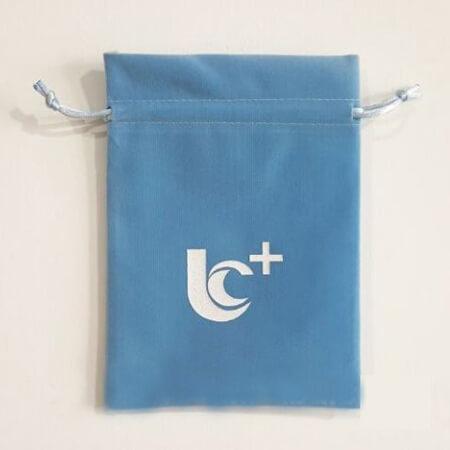Beautiful velvet bag with drawstring 2