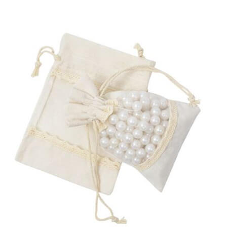 Cotton drawstring bags with window 4