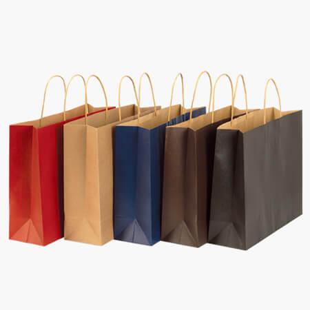 Hot sale shopping nice kraft paper bag 1
