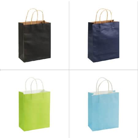 Hot sale shopping nice kraft paper bag 3