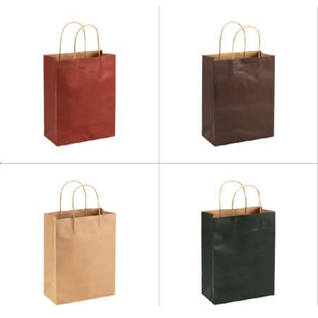 Hot sale shopping nice kraft paper bag 4