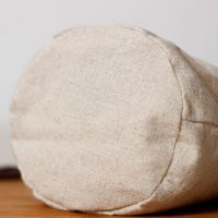 Linen bag round bottom rice wheat bag 3
