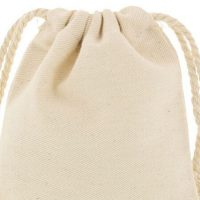 Mini cotton bags with cotton rope 4