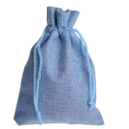 Natural linen drawstring gift bags 2