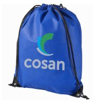 Non woven drawstring sports backpack bag 2
