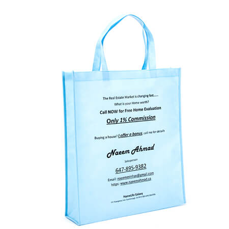 Printed non woven promotional bag 1