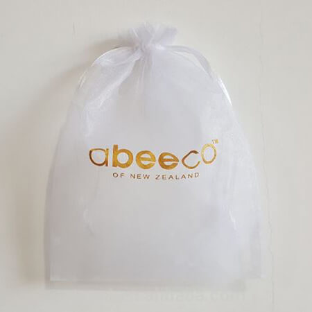 Printed organza gift bag with logo 4