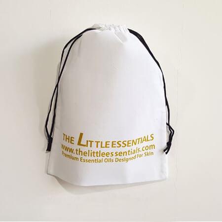 Promotional custom velvet drawstring pouch 1