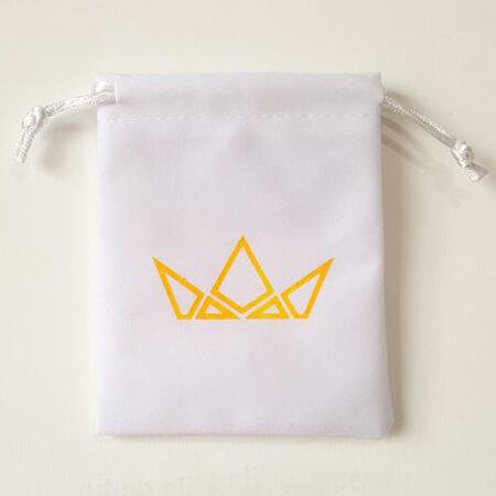 Promotional custom velvet drawstring pouch 4