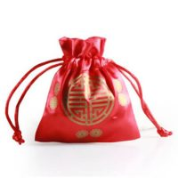 Red wedding candy stain packing bag 1
