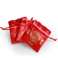 Red wedding candy stain packing bag 3