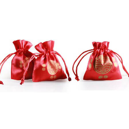 Red wedding candy stain packing bag 4