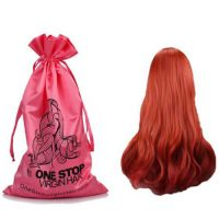 Satin drawstring pouch for Hair Extensions 2