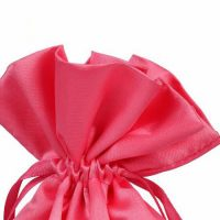 Satin drawstring pouch for Hair Extensions 3