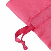 Satin drawstring pouch for Hair Extensions 4