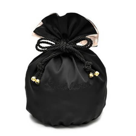 Silk pouch for jewelry and hair packing 3