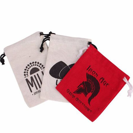 Small cotton bags with personalized design 1