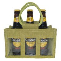 3 Jar jute bag with PVC window 1