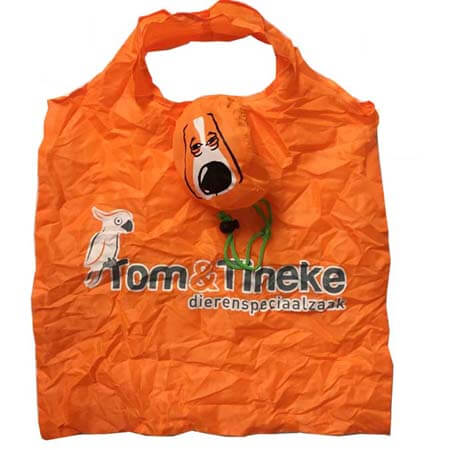 Cute animal foldable shopping bag 3