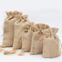 Drawstring jute bags 4