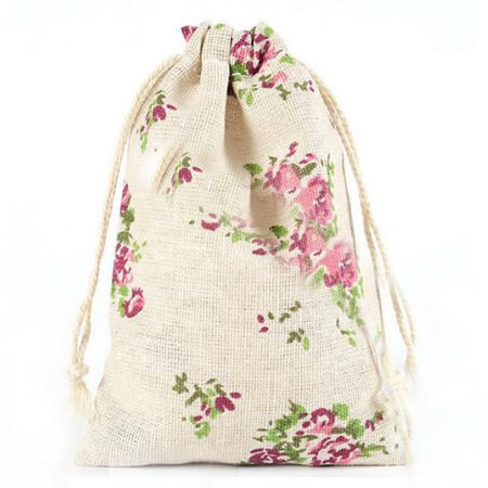 Fashion gift jute bags 2