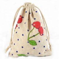 Fashion gift jute bags 3