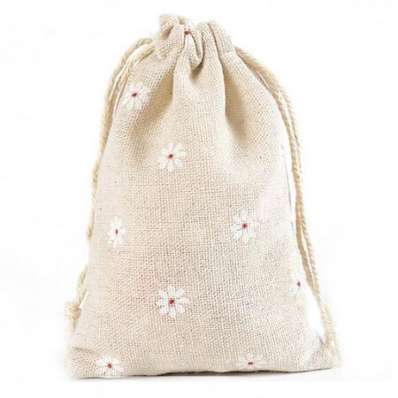 Fashion gift jute bags 4