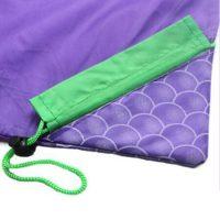 Grape shape foldable polyester drawstring bag 3