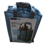 Heavy-duty polyester wine bottle bag 1