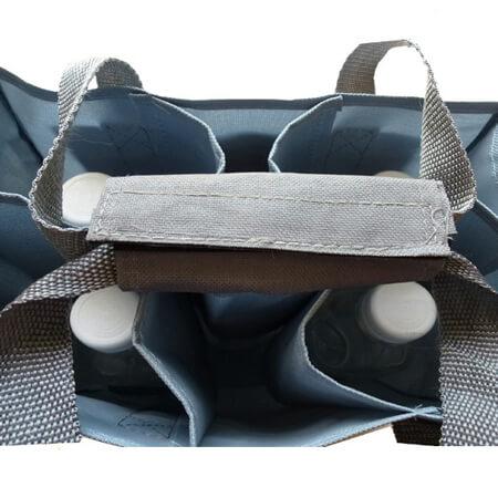 Heavy-duty polyester wine bottle bag 2
