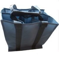 Heavy-duty polyester wine bottle bag 3