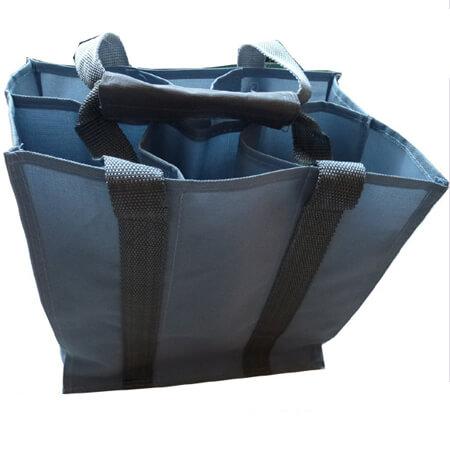 Heavy-duty polyester wine bottle bag 3