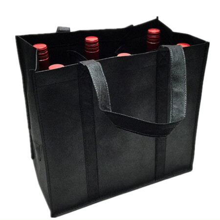 Heavy-duty polyester wine bottle bag 4