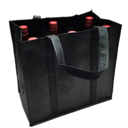Heavy-duty polyester wine bottle bag 4