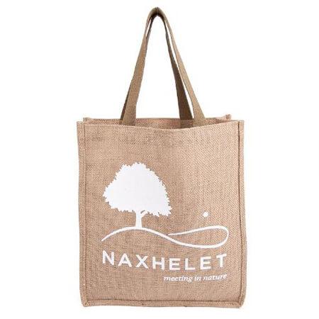Jute supermarket shopper bag 4