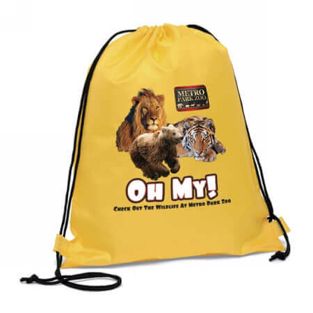 Nylon polyester drawstring bag for sports 1
