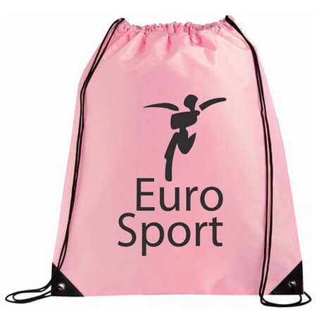 Nylon polyester drawstring bag for sports 3