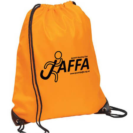 Nylon polyester drawstring bag for sports 4
