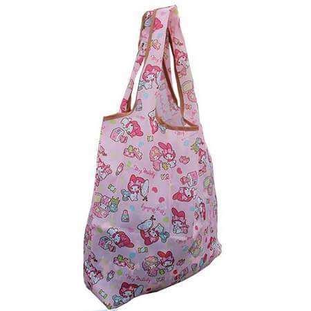 Shoulder printing eco bag for shopping 2