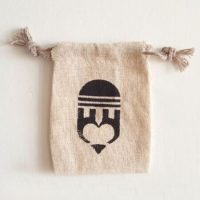 Small jute bags with logo 2