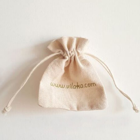Small jute bags with logo 4