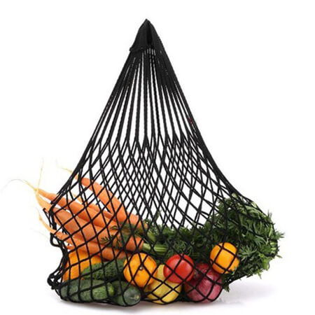 Drawstring cotton mesh bag for vegetable 1