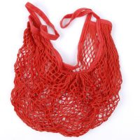 Drawstring cotton mesh bag for vegetable 2