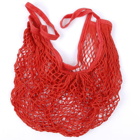 Drawstring cotton mesh bag for vegetable 2